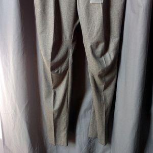 Alexander McQueen Pants - ALEXANDER MCQUEEN Men's Gray Wool Pants/Flat Front
